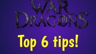War Dragons top 6 tips for beginners (new players)