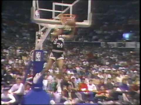 Michael Jordan 1987: Full Slam Dunk Contest