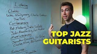 top JAZZ GUITARISTS to listen to