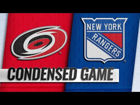 01/15/19 Condensed Game: Hurricanes @ Rangers