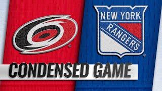 01/15/19 Condensed Game: Hurricanes @ Rangers