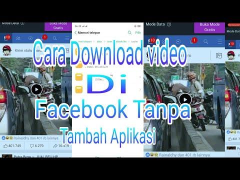 Cara Download Video Di Facebook Dengan Mudah 100 % Work