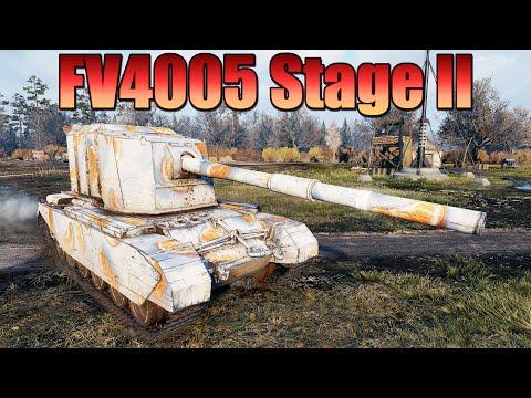 FV4005 Stage II, ВОТ ЭТО БРЕВНОМЁТ,  11к УРОНА