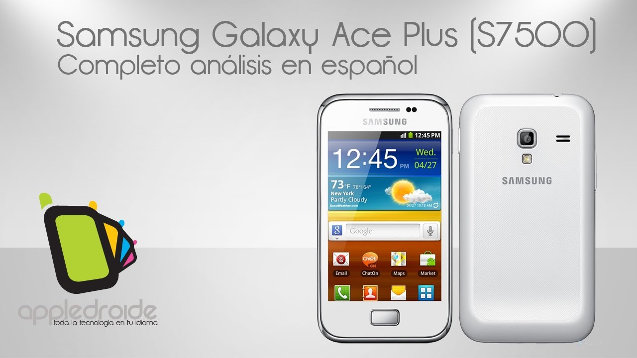 samsung galaxy ace plus s7500 live