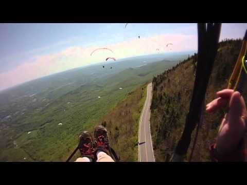 Paragliding Mt Greylock  5/20/2012