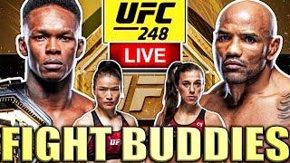 🔴 UFC 248: ADESANYA VS ROMERO ZHANG VS JEDRZEJCZYK LIVE FIGHT REACTION!