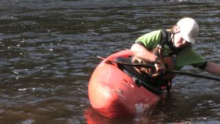 Edging Your Whitewater Kayak with Raven Rescue Instructor Kirstin Trudeau
