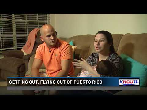 Getting Out: Flying out of Puerto Rico