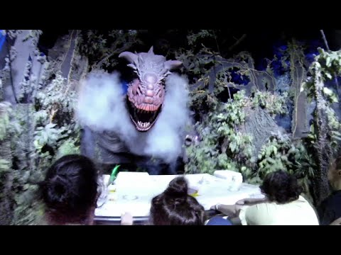 DINOSAUR POV Full Ride + Pre Show - Disney