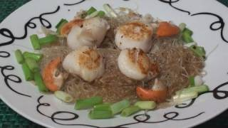 Pan Fried Scallops With Ginger And Spring Onions Recipe