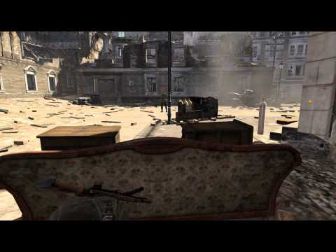 Sniper Elite V2 - Stealth Walkthrough - Schoneberg Street