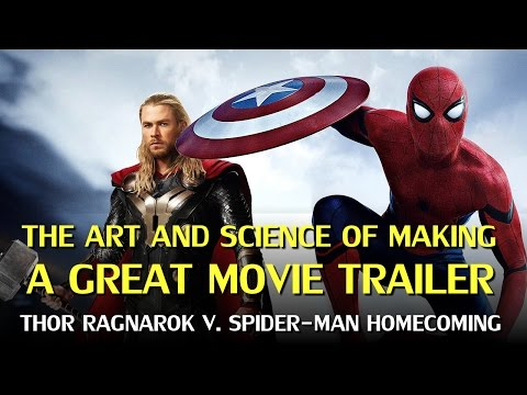 Thumbnail: The Science of Movie Trailers: Thor Ragnarok & Spider-man Homecoming