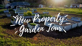 New Property Garden Tour!! | Summer 2018 Garden | The Urban Lady Bug