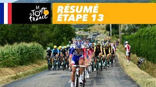 Samenvatting Tour de France 2018 etappe 13