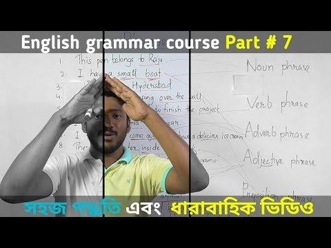 All types of Phrase. English Grammar part 7