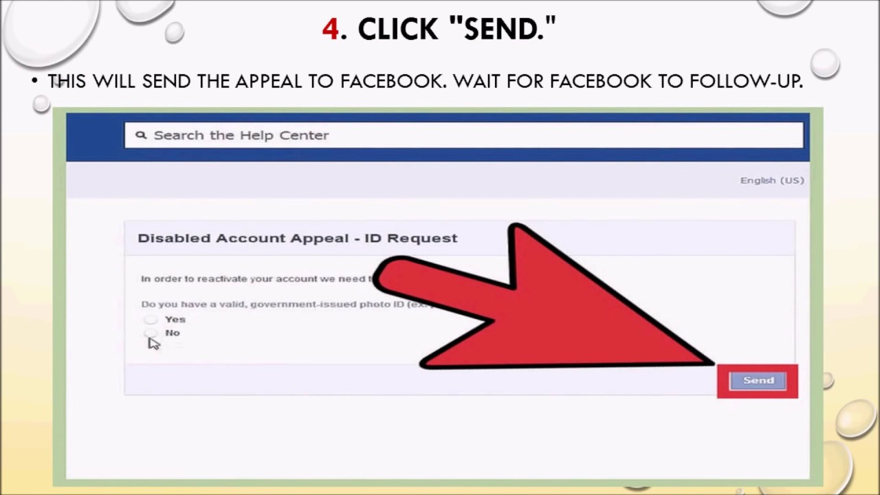 How to Recover a Disabled Facebook Account forecasting