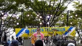 大阪南港ATCで行われた24時間テレビ「愛は地球を救う」チャリティーライ...