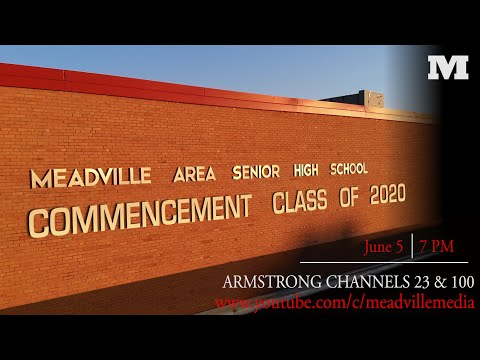 Meadville High School Virtual Commencement 2020
