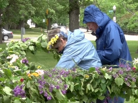 Annual Midsommer Fest Held To Celebrate The Summer Solstice