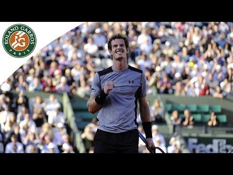 Andy Murray V David Ferrer Highlights - Men's Quarterfinals 2015 - Roland-Garros