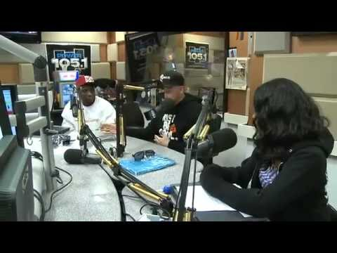 Krondon at The Breakfast Club - Power 105.1 Interview