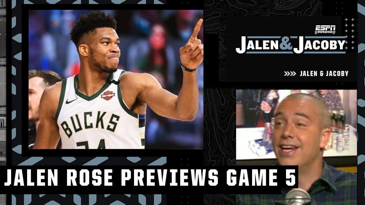 Download [FULL] Jalen Rose on Bucks vs Suns in Game 5 tonight - The winner will take home the NBA title