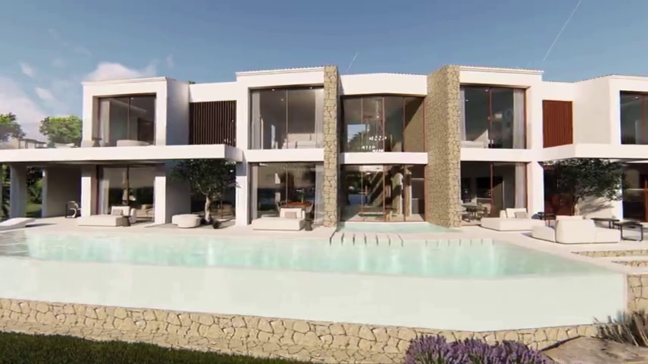 New designer villa projected by A3 Luxury Living - Palma de Mallorca