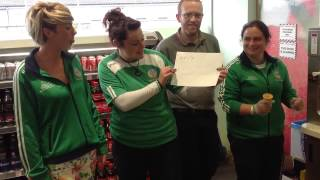 Brian Geary Toyota Aygo Camogie Tour