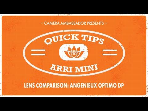 Arri Mini Lens Test with Angenieux Optimo DP