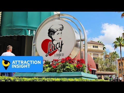 Walkthrough Of Lucy - A Tribute   Universal Orlando