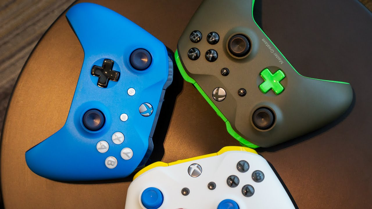 Xbox Design Lab Custom Controllers Youtube