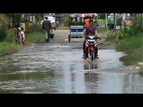 Video Drainase Rusak Parah Di Pangkalan Berandan,Sei Bilah