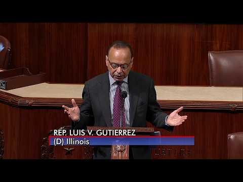 Gutiérrez Floor Speech On Omnibus: Add Dream Act, Cut Deportation, Detention & Border Militarization