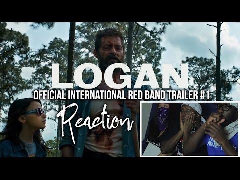 LOGAN Official International Red Band Trailer #1 Reaction
