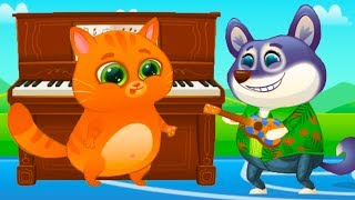КОТЕНОК БУБУ и ПЕСИК ДУДУ #83 Мультик игра про котика и щенка  Челлендж кота малыша #пурумчата