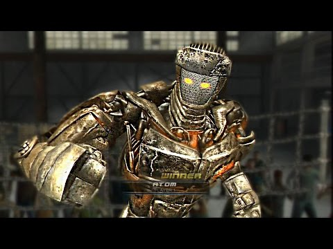 Real Steel-New ATOM vs METRO & AMBUSH,NOISY BOY,MIDAS,TWIN CITIES,ZEUS+NEW ARENA WITHOUT RULES