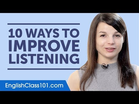 10 Ways to Improve Your English Listening