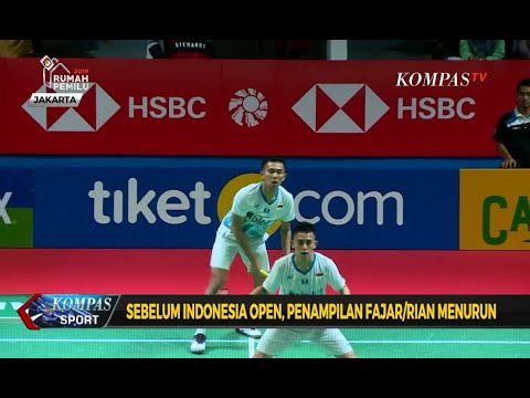 Pebulutangkis Fajar-Rian Ingin Bangkit Di Indonesia Open 2019