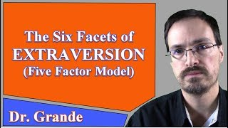 The Six Facets of Extraversion (Five Factor Model of Personality)