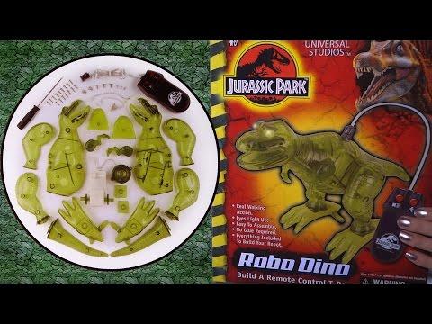 Building: Jurassic Park ROBO DINO Remote Control T-REX robotic toy