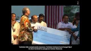 Najib Razak :Majlis Rumah Terbuka Malaysia Deepavali 2012