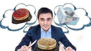 Народный кондитер. Обзор тортов Рената Агзамова. Упаковка продукта.