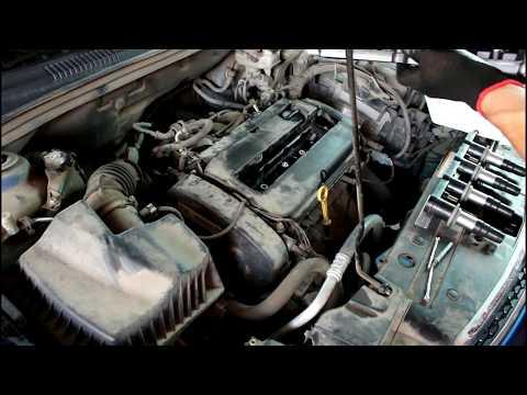 Chevrolet Cruze F18D4 Шевроле Круз 2011 года Замена катушки и свечей зажигания
