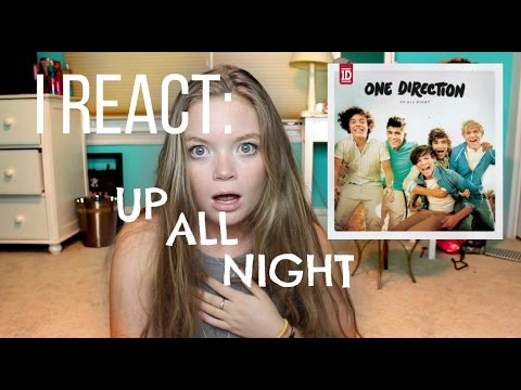 I REACT: UP ALL NIGHT ALBUM || ONE DIRECTION