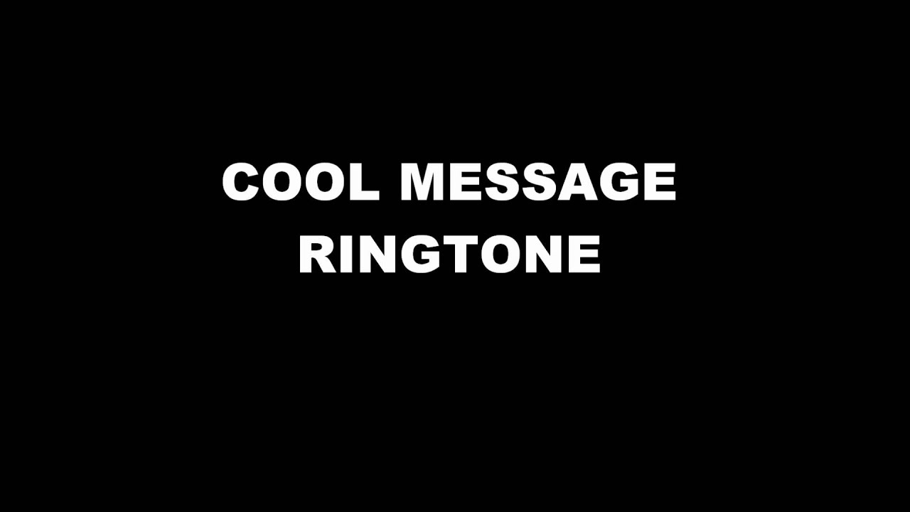 best message ringtone download