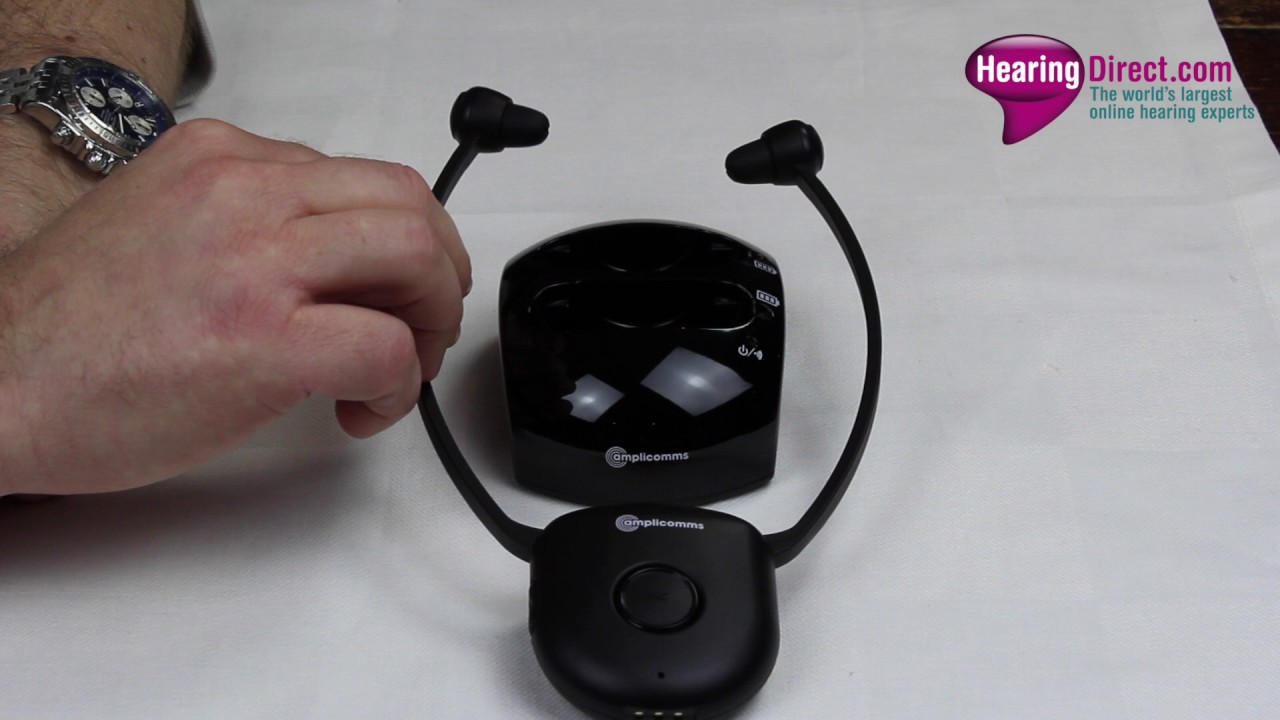 Tv Headphones Wireless Help For The Hard Of Hearing Hearingdirect