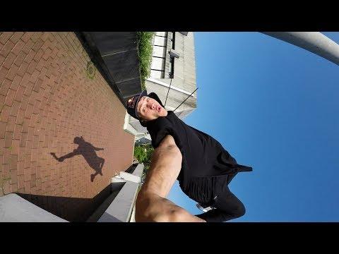 GoPro: Freerunning a Frankfurt Tower with Jason Paul