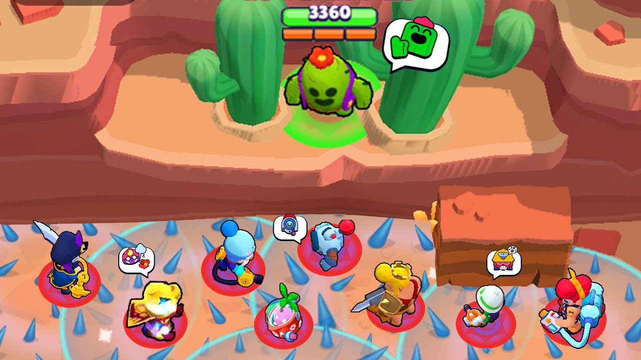 1000 iq SPIKE vs NOOBS 🌵 Funny Moments & Fails in Brawl Stars