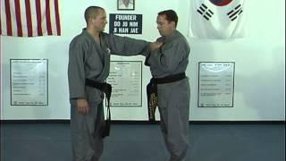 HapkidoTough Guy Thumb Down Grabs Techniques 1 Thru 5, Ji Han Jae