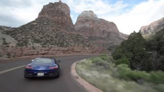 Utah's High Desert with Mercedes AMG GT in the Rain - Legendary Roads